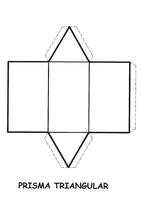 figuras geometricas moldes para armar pics for gt prisma para armar