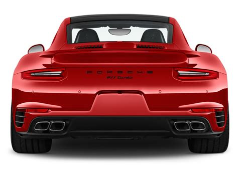 coupe rear image 2017 porsche 911 turbo coupe rear exterior view
