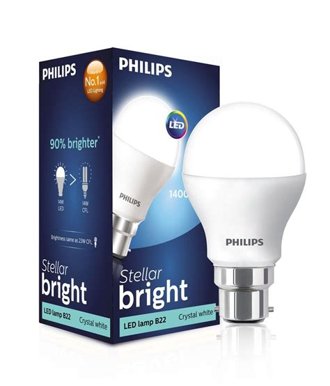Lu Led Philips 2 Watt philips white 14 watt led light bulb buy philips white 14