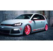 VW Golf 7 2013 Light Tron Tuning Showcar