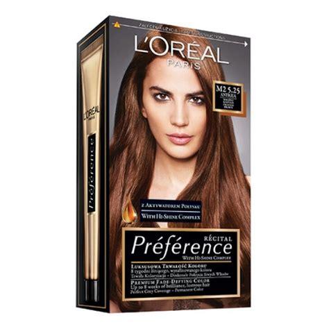 loreal farba za kosu paleta sive boje l oreal preference recital farba do włos 243 w m2 5 25