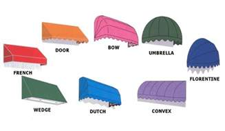 Awning Types Canopy Awning Types Custom Canopies Re Clothing