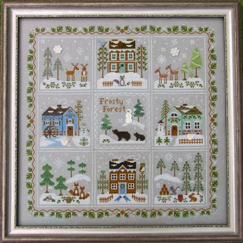 winter welcome country cottage needleworks i cross stitch pinterest cottages country willow tree stitcher
