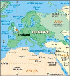 England On World Map by England Map Geography Of England Map Of England