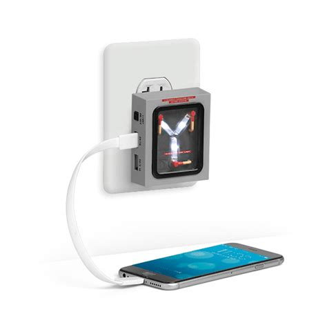 flux capacitor phone charger a back to the future flux capacitor wall charger