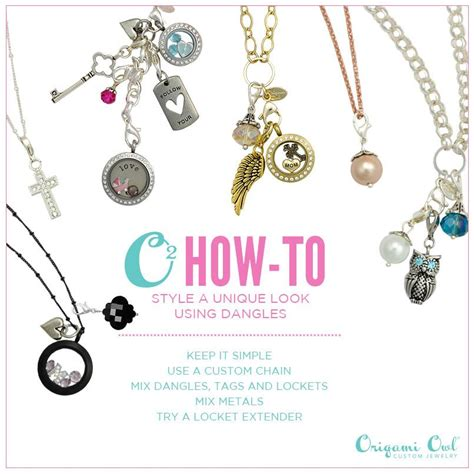 Origami Owl How To - our dangles origami owl origami owl jewelry