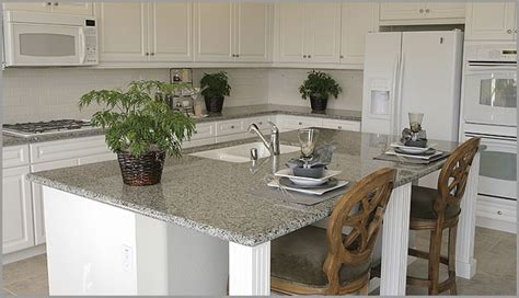 luna pearl granite with white cabinets salt and pepper or lunar pearl granite kitchen pictures