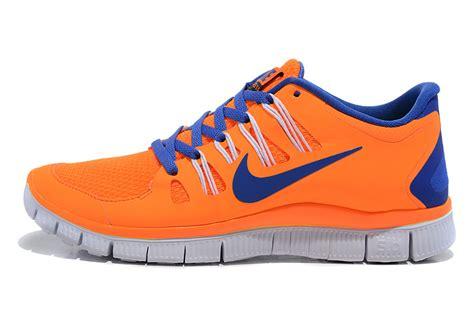 blue and orange running shoes blue white orange nike free 5 0 v2 2013 cheaper