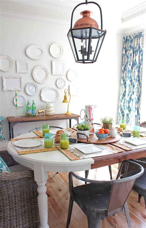 how to decorate my dining room decorate a spring dining room my colortopia