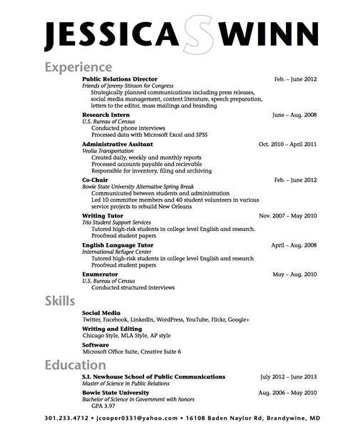 School Resume Template sle high school student resume exle resume