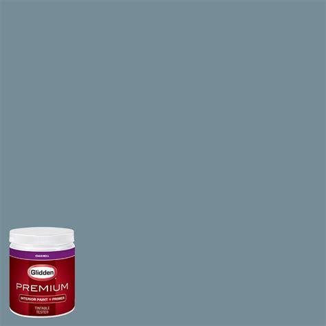 glidden premium 8 oz hdgb52u sky blue eggshell interior paint with primer tester