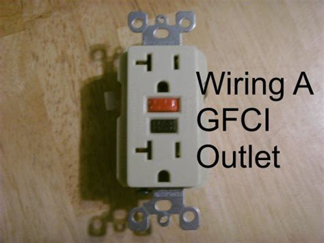 how to install a gfci outlet diy gfci wiring made easy
