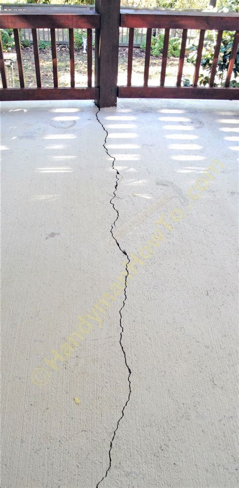 Fixing a Cracked Concrete Patio Slab #DIY   Concrete DIY