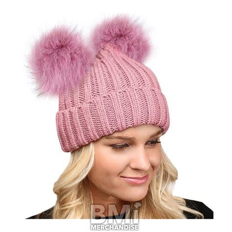 Pompom Beanie Hat pom pom beanie hat t