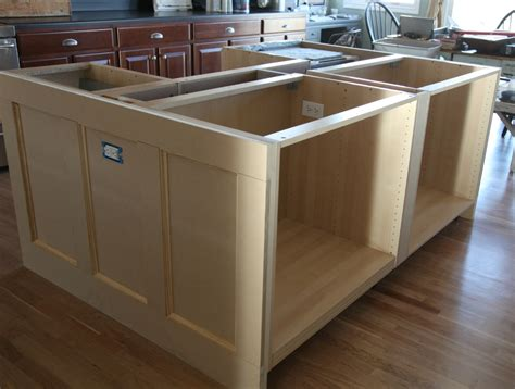 building a kitchen island with cabinets how to build a kitchen island with cabinets home kitchen
