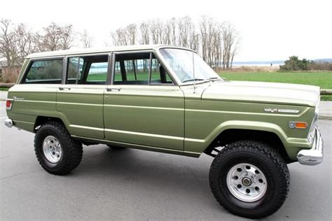 1970 jeep wagoneer for sale 1970 jeep wagoneer grab a wrench wish list