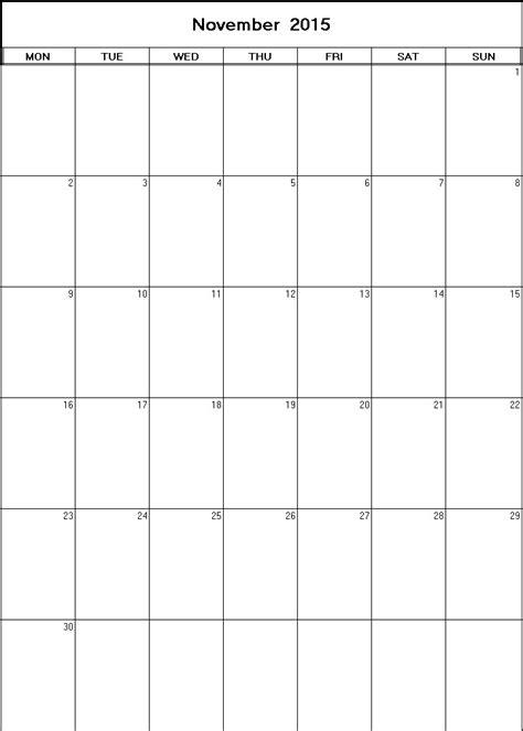 printable calendar 2015 net november 2015 printable blank calendar