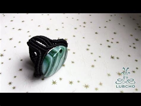 Macrame Ring Tutorial - how to make a macrame ring como hacer un anillo de