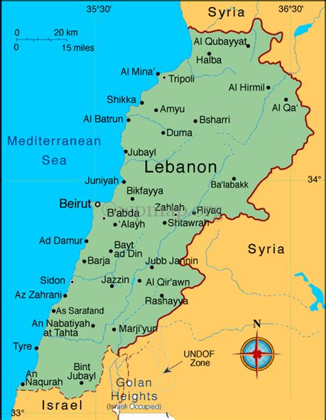map of lebanon two way vsat voice data via satellite middle east gulf region africa dvb s2 scpc two