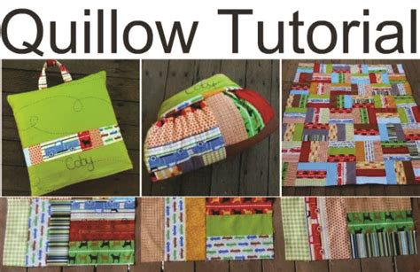 quillow pattern video cutie roads quillow quilt that turns cushion only