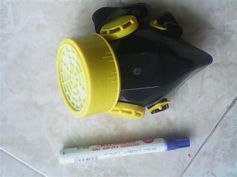 Masker Asap jual masker karet penutup penyaring asap debu elastis