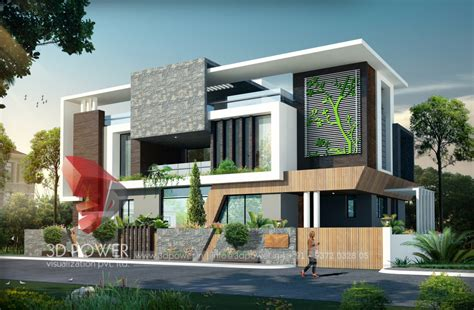 home design works contemporary villa elevation contemporary house