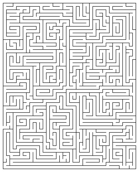printable mazes for youth printable maze puzzles for adults printable maze 20