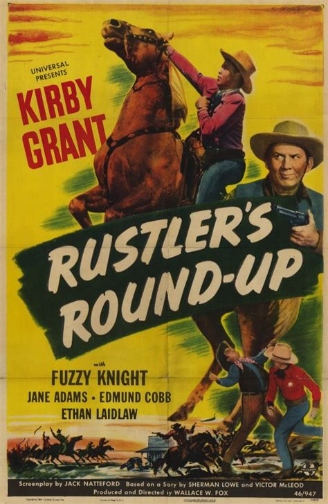film round up rustlers round up movie posters from movie poster shop