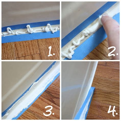 how to apply bathtub caulk how to caulk a perfectly straight line