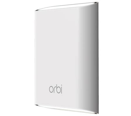 Add On Orbi Outdoor Satellite Rbs50y - orbi satellites to extend wifi coverage netgear