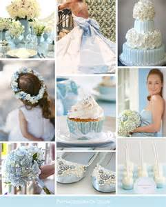 Pale Blue And White pale blue and white wedding colours