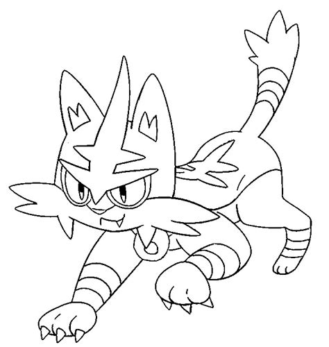 morning kids net coloring pages pokemon coloring pages pokemon torracat drawings pokemon