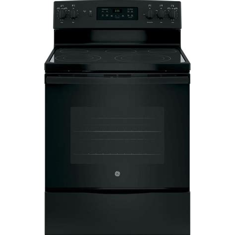 ge artistry 5 0 cu ft electric range in white abs45dfws