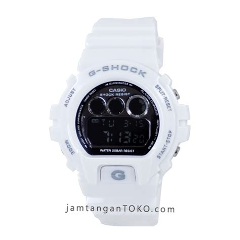 G Shock Warna Putih harga sarap jam tangan g shock dw6900nb 7 putih ori bm