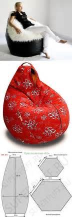 Bean Bag Chair Pattern 25 Best Ideas About Bean Bag Patterns On Bean