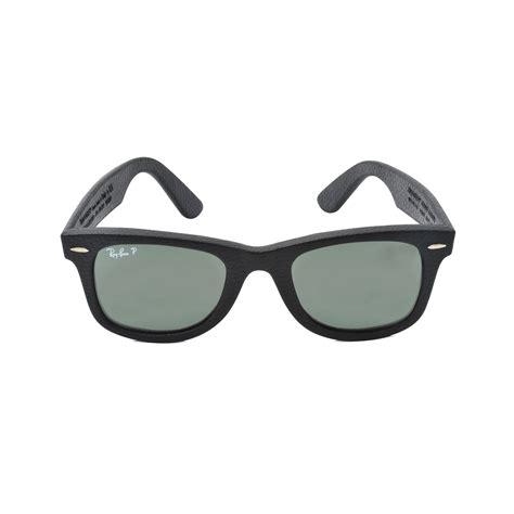 Original Ban New Wayfarer Polarized Sunglasses ban original wayfarer polarized sunglasses in black lyst