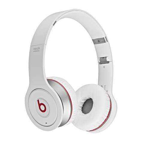 Beats By Dr Dre Studio On Ear Headphone White Clear Bass 1 beats by dr dre studio wireless on ear headphones with