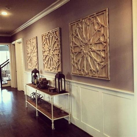 hall project complete westelm wallart whitewashed wood