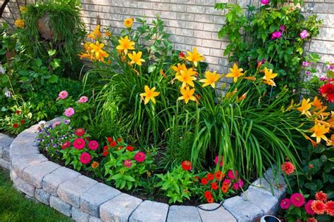 Flower Garden Ideas In Front Of House Flower Bed Design For Front Of House Landscaping Gardening Ideas