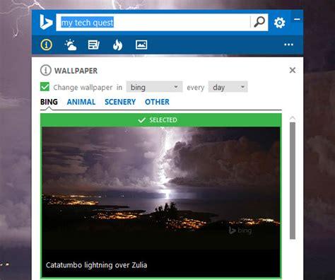 set bing daily image as desktop wallpaper in windows 10 set bing daily image as desktop wallpaper in windows 10