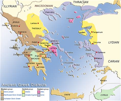map of archaic greece historical maps of the ancient greece