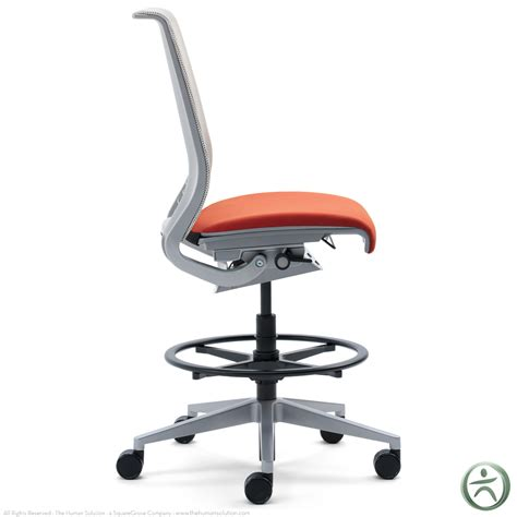 Steelcase Stools by Shop Steelcase Think Drafting Stools With 3d Knit Back