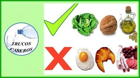 como bajar el colesterol malo de forma natural remedios caseros  el colesterol youtube