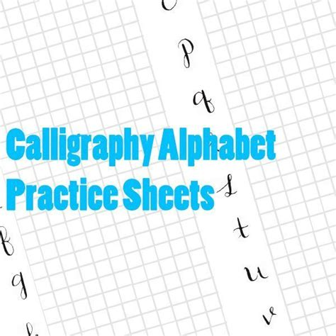 printable italic letters number names worksheets 187 practice calligraphy worksheets