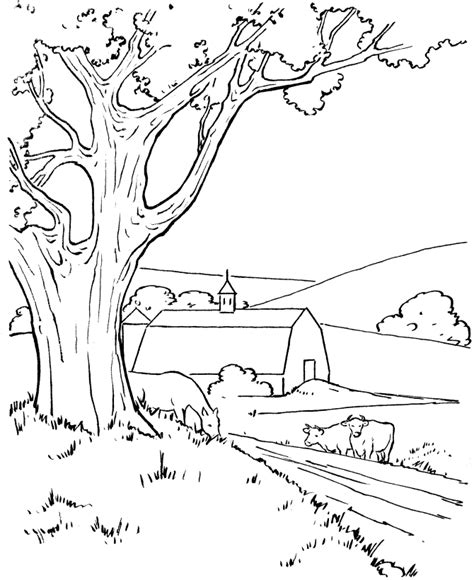 Coloring Page Landscapes Coloring Pages Landscape Coloring Pages Coloring Home