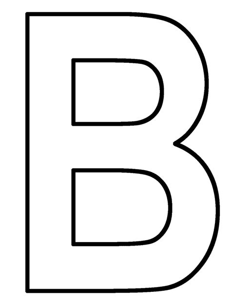 B Coloring Pages by Letter B Coloring Pages Preschool And Kindergarten