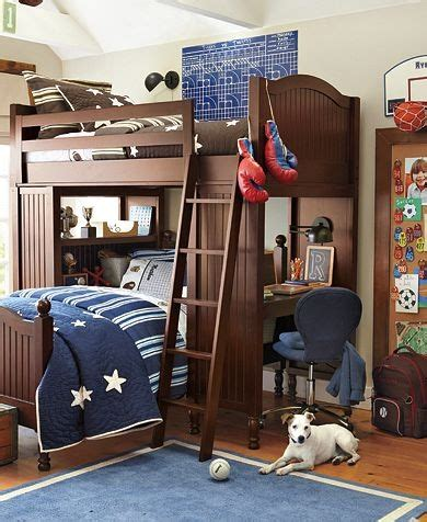 pottery barn loft bed with desk i this is about nurseries but my would kill for bunkbeds potterybarnkids