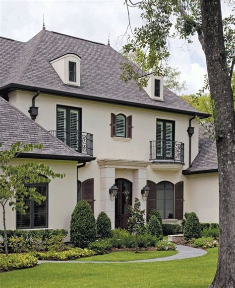 country french homes brick may be all the rage now but i ll always love a