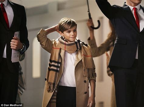 romeo beckham speaking romeo beckham unveiled as the star of burberry s christmas