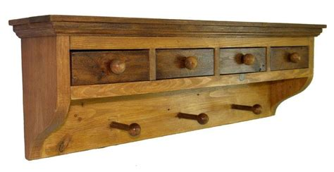 Coat Rack With Drawers by Wall Coat Rack With Handy Drawers By Steliart Lumberjocks Woodworking Community